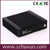 Slim pc nvidia GT520 ION3 Intel atom mini pc 5RS232,4USB2.0,D2700 embedded PC 2.13GHz,12V DC IN,aluminum chassis
