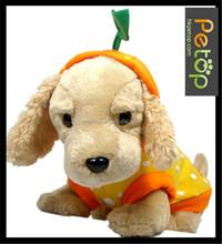 Transform Orange Pet Dog Hoodie Coat