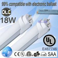 99% compatible with electronic ballasts t8 asian red tube 100-277V UL DLC
