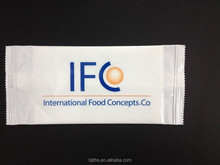 disposable single pack customized viscose wet wipes