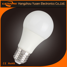 warm white/cool white/pure white A60 7w led smd light bulb