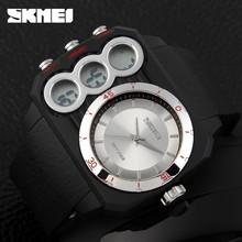 Hot selling SKMEI brand Big face square japan movt quartz watch #1090