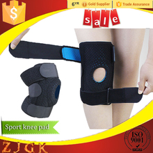 Hinge sport protective knee support for basketball