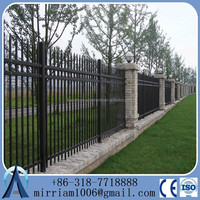 wrought iron fence ideas | of wrought iron fences and gates with hand forged ornamental iron