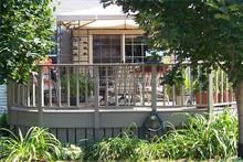 jardín decorativo de metal cerca paneles de la cerca del jardín cerca