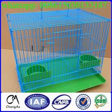 Low carbon iron mink cage materials factory /mink bird cage
