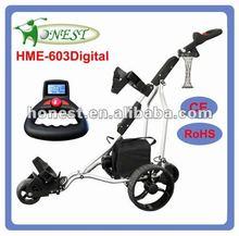 UK hot-sale power indicator Electric Golf Trolley Golf Caddy Golf Buggy (HME-603Digital)