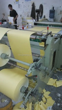 new condition full automatic comptuer label stock paper , adhesive paper roll to sheet cutter with export low manufacture price