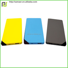 Phone Charger Rubber Feel High Quality 7500mAh Real Capacity Polymer Battery Portable Charger Power Bank