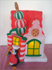 hot sale inflatable Christmas house yard decoration for Christmas promotion