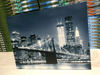 city paintings led lighted canvas wall art