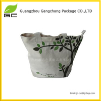 New style shopping eco canvas duffle bags wholesale
