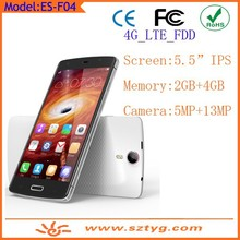 Cheap Goods From China 5inch 4G LTE Android Phone Android 4.4 With Dual SIM
