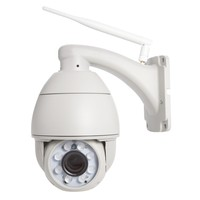 1.0MP 10X zoom Wifi IR CUT IP Camera Wireless Outdoor Dome PTZ Rotate Waterproof Security Camera