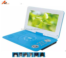 cheap price cd dvd player with tft screen united portable dvd player