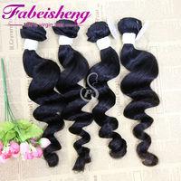FBS hair alibaba en espanol express no chemical process loose curly 100% virgin malaysian hair