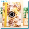 factory price smart case for ipad air 2, for ipad 6 cover case, 360 degree rotating case for ipad 6