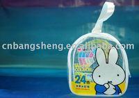 2013 Rabbit PVC children stationery bag