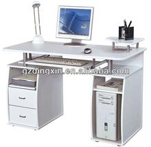 computer desk PC workstation desk, Melamine computer desk design