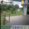 Garden terrace hollow design wood-plastic flooring