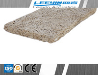 Sound Absorbing wood wool cement board with decoration material