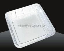 square aluminium foil container