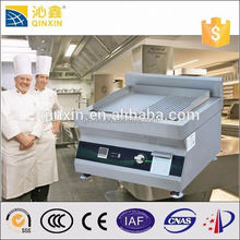 Commercial industrial kitchen equipment stainless steel induction flat cast iron comercial bbq grill