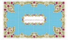 plastic tablecloth oriental tablecloth pvc tablecloth