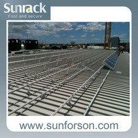 pv solar panel roof mounting support system/brackets