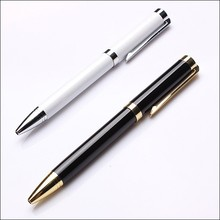 2 colors twsist open nice metal promotional ball pen/ballpoint pen