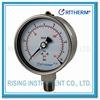 All stainless steel liquid filled wika pressure gauge