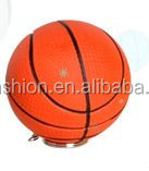 mini basketball made of rubber