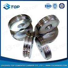 High quality and widely used cemented carbide rolls notched precisely as drawing and requirements