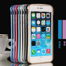 Double Color Deff Cleave Metal Bumper For iPhone 6 Plus