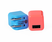 Mobile Phone Used International USB Travel Power Plug Adapter Charger with CE/FCC/IEC Certification