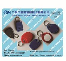 RFID access control key tag