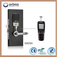 orbita Stainless steel new design swing/sliding door hotel door lock