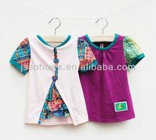 100% cotton t-shirt for girl, girl's summer t-shirt, t-shirt for girls korean
