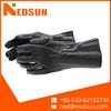 Open cuff heavy duty PVC glove for working