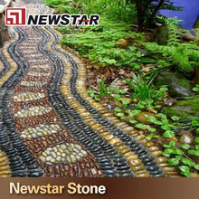 Newstar top quality river stone for garden decoration