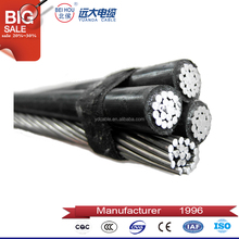 Low voltage cable 16mm2 ABC twisted cable with 0.6/1KV voltage