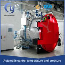 high temperature high pressure PLC control autoclave spare parts