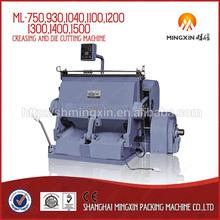 die cutter/corrugated cardboard carton making machine
