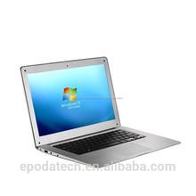 bajo precio de alta calidad windows 7intel de doble núcleo 14 pulgadas portátil a la venta