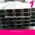 De acero galvanizado en forma de c canal, c perfil uesd para la construcción
