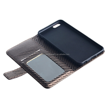 PU Leather Mobile Phone TPU Case Cover for iPhone 6 Plus