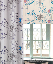 Fabric Polyester Blackout Printed Woven Fabric Window Curtain