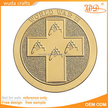 die stamping 3D cubic antique black nickel imitation enamel High Quality custom engraved silver coin