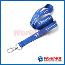 Durable polyester silk screen lanyard Made in china
