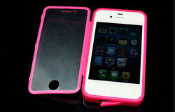 Wear well tpu material phone cover for iphone 4s